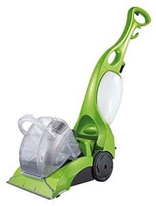 CLEANmaxx 06805 Teppichreiniger Professional | 3 in 1: Waschen, Reinigen, Absaugen | Frische, Saubere Teppiche | Gründliche Reinigung | inkl. 500 ml Teppichshamppo | 700 Watt | Limegreen