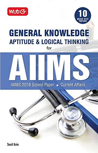 MTG General Knowledge Aptitude and Logical Thinking for AIIMS(2019-20)