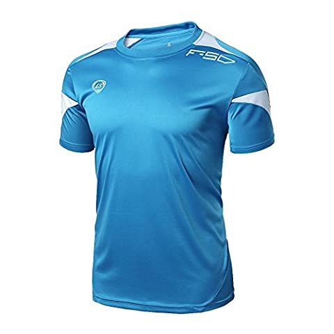 Balai Men's Gym Sport Running T Shirt Fitness Muscle Quick Dry Stretch Top Tee Shirt L