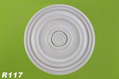 1-rosette-deckenrosette-dekor-stuck-wand-polyurethane-stossfest-oe56cm-r117