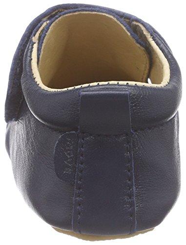 MOVE Prewalker rutschfester Sohle Unisex Baby Krabbelschuhe Blau (Marine285)