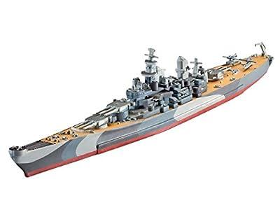 Revell - 05128 - Maquette De Bateau - Battelship U.s.s. Missouri Wwii - 31 Pièces - Echelle 1/1200
