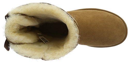 UGG Australia Bailey Bow, Scarpe a Collo Alto Donna Marrone (Chestnut)