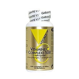 Vitall+ - Vitamine C Complexe 750 mg (100 comprimés)