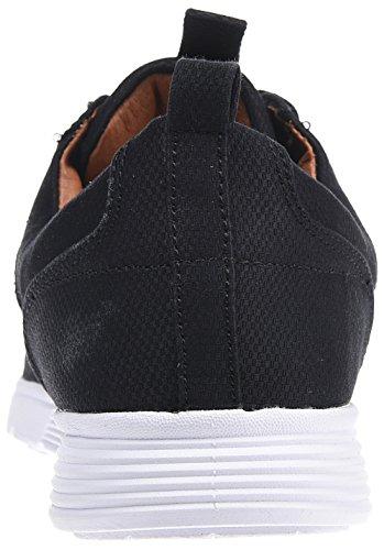 Djinns Herren Schuhe/Sneaker Forlow Light Canvas Black