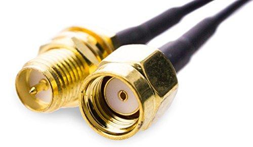 INSTAR 100434 - Cable alargador de antena (3 metros, RP-SMA)