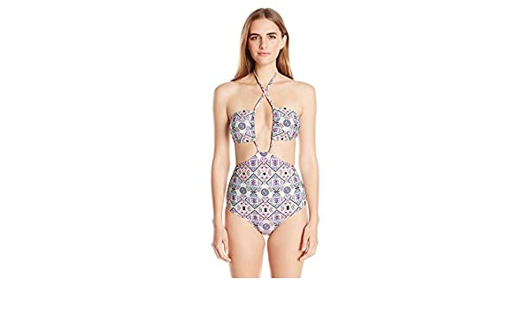 9cb9abbe60f8 6 Shore Road by Pooja Women's Push Cart One Piece Swimsuit, Mola ...
