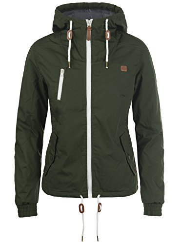 DESIRES Tilda Damen Übergangsjacke Jacke mit Kapuze, Größe:S, Farbe:Climb Ivy (3785)