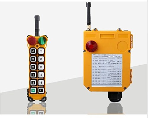 Gowe F24–12D, 24V, 36V, 48V, 220V, 380V Industrie Kabellose Fernbedienung für elektrische Seilwinde lässt WINDLASS Lifting Hoist Trolley Lifting über Farbe: 380V 3-Phasen
