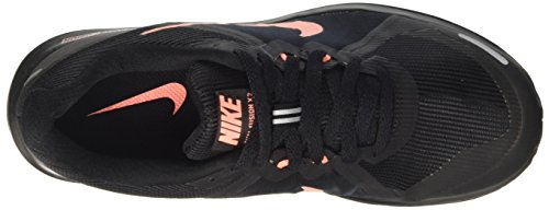 Nike Wmns Dual Fusion X 2, Chaussures de Running Entrainement Femme Noir (Black/atomic Pink/black/white/reflect Silver)
