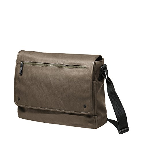 Jost Messenger Bag L Cult Army [2] Marrone|multicolore Marrone|Verde