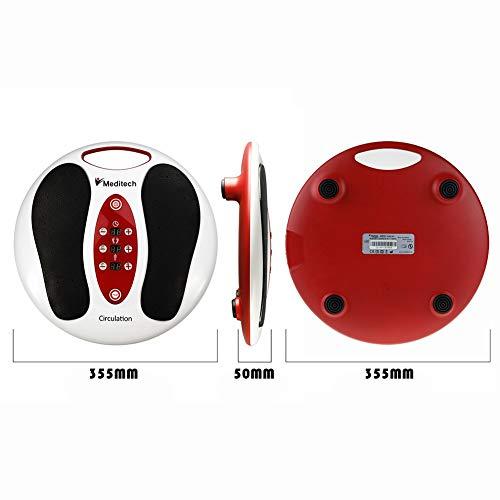 Lsnisni électromagnétique Massage des pieds, 25 modes de massage, 99 intensités réglables, 4 pour le corps, soins des pieds et relaxation du... 5