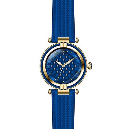 Invicta Bolt Femme Bracelet Caoutchouc Bleu Quartz Analogique Montre 28945