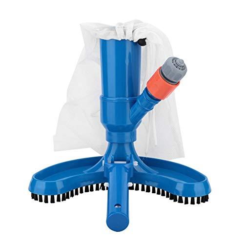 Autotipps Schwimmbad Bürste, Reinigungsbürste Poolbürsten Vakuum Kopf mit Schlauchanschluss Jet-Pool Staubsauger Schwimmendes Objekt Reinigungswerkzeug