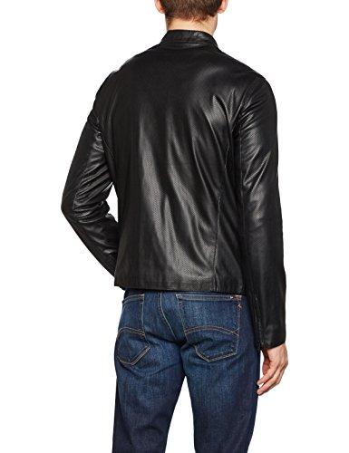 Armani Jeans Herren Jacke 3y6b796ebcz Schwarz (nero 1200)
