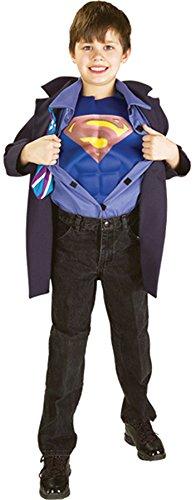 Superman Clark Kent Kinderkostüm - 140 cm (Superman Clark Kent Kostüme)