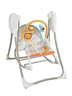 Fisher-Price Columpio hamaca 3 en 1, para bebé recién nacido (Mattel BFH07) (B00HTJQA4K)   Amazon price tracker / tracking, Amazon price history charts, Amazon price watches, Amazon price drop alerts