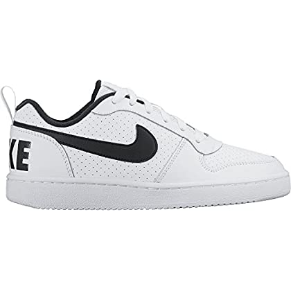 quality design 79f0e a76a6 Nike Unisex-Kinder Court Borough Low (Gs) Gymnastikschuhe, Elfenbein  (White/black), 35.5 EU - Amazon Đức | Fado.vn