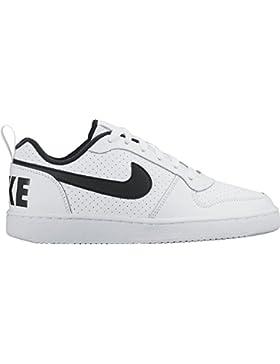 NIKE Court Borough Low (GS), Zapatos de Baloncesto Unisex Niños