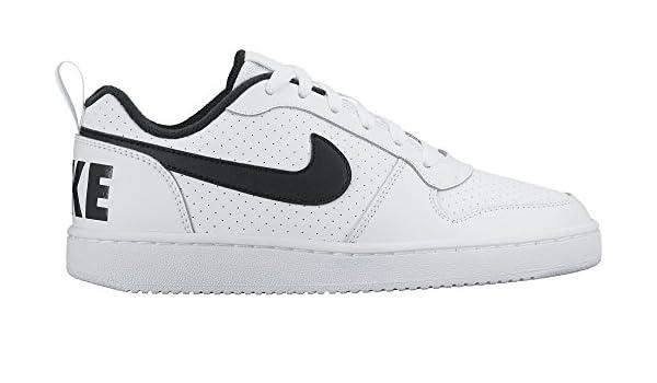 best sale super popular nice shoes Nike Court Borough Low (GS), Baskets Homme, Blanc (White/Black ...