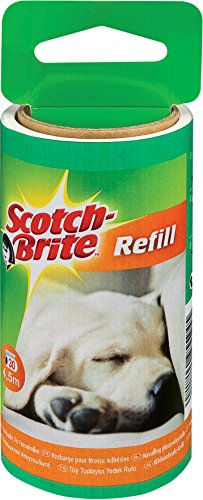 scotch-brite-837rp-replacement-roll-pet-hair-lint-roller-30-sheets-pack-of-4