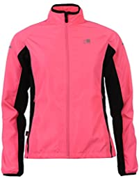 Karrimor Womens Ladies Running Jacket Long Sleeve Zip Fastening Coat Top