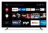 Xiaomi Mi Smart TV 4S 55' (4K Ultra HD, Triple Tuner, Android TV 9.0, Fernbedienung mit Mikrofon, Amazon Prime Video und Netflix)