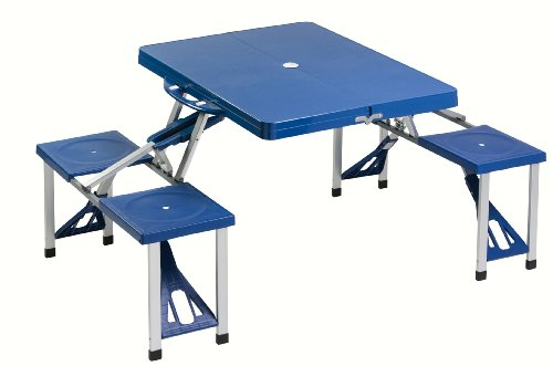 Cao 4 Camping Table - Mesa para acampada, color azul