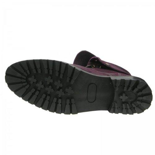 - Boots chaussures de marche cuir Couleur - , pointure - Violet