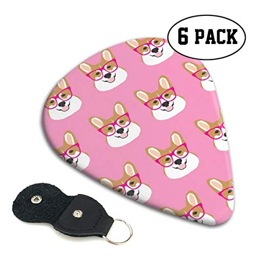 843c4f2babed4 Corgi Glasses Pink Girls Girly Corgi Pet Dog Cute Corgi Wearing Glasses Men  Stylish Celluloid Player s