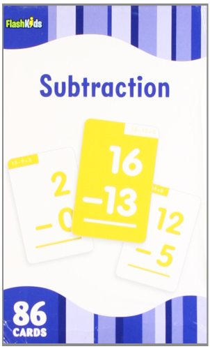 Subtraction (Flash Kids Flash Cards)