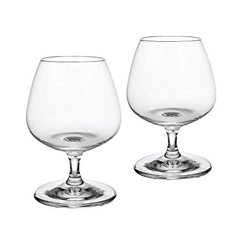 2 x Cognacschwenker, Cognacglas, Schwenker, Weinbrandschwenker NAPOLI 390ml, transparent, Glas im...