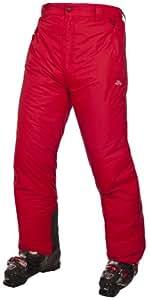 Trespass Coaldale Pantalon de ski pour homme rouge Rouge XS