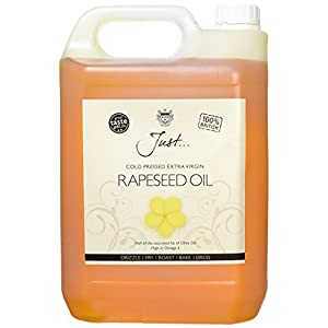 Just Cold Pressed Extra Virgin Rapeseed Oil 5 Litre 4