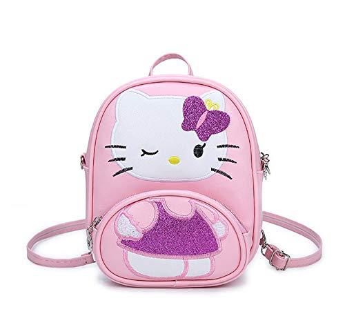 en Hello Kitty Kindergarten Schultasche Kawaii Karikatur Rucksack Klein Travel Daypacks ()