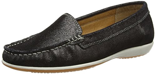 Lotus Women Conforti Loafers, Black (Black), 5 UK 38 EU