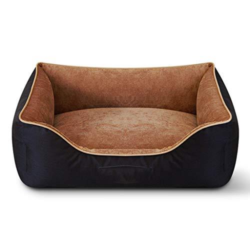 XHCP Hundemöbel Hunde PET 's Kissen Matten Sofas oder Stühle in verschiedenen Größen/S/M/L/XL (Farbe: C Braun, Größe: L) - Gesamt-stuhl-kissen