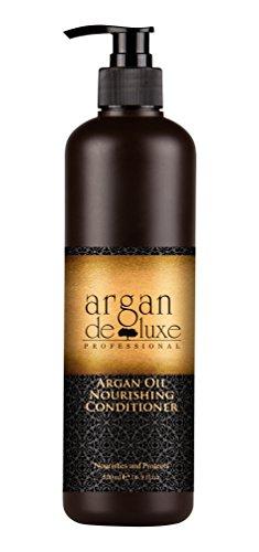 Argan Deluxe Conditioner in Friseur-Qualität 500 ml - stark pflegend mit Arganöl für Geschmeidigkeit und Glanz