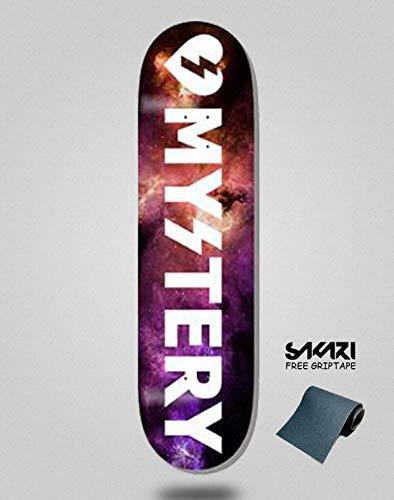 lordofbrands Monopatín Skate Skateboard Deck Mystery Cosmic Mystery V3 8.0