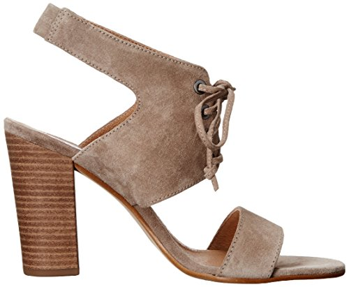 Dune London Irana Femmes Daim Sandales Grey