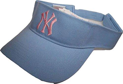 Preisvergleich Produktbild N.Y. Visor Schirmmütze Major League Baseball Hellblau-Rosa Art.-Nr. 403-000001-6646 Einheitsgröße 100% Baumwolle