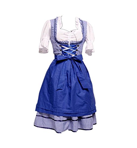 Imagen de disfraz de bavara tirolesa mujer traje de criada/camarera xl