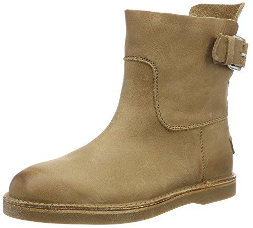 Shabbies Amsterdam Damen Shabbies Schlupfstiefel Vegetabil Beige (Light Brown)