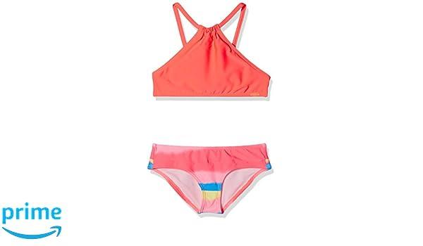 636b2358bd O'Neill Cali Chill de Bain Style Bikini pour Femme Fille 8-9 Ans Rose:  Amazon.fr: Sports et Loisirs