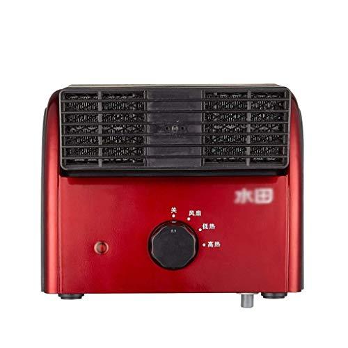 WANG XIN Mini Calentador Escritorio Calentador cerámica