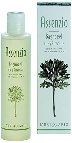 L'Erbolario Absinth Badegel, 1er Pack (1 x 200 ml)