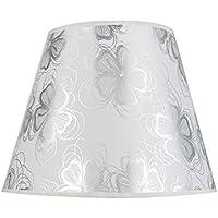 14 13cm Flachs Kerze Kronleuchter Lampenschirm Wand Lampe Pendelleuchte Schirm rot mit Clips Eastlion 9