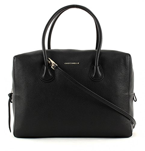 COCCINELLE CELLY DOUBLE HANDBAG YH5180301 Nero