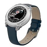 Fuibo Smartwatch, Smart Color Screen Blutdruck Übung Herzfrequenz Schrittzähler Smart Watch Armbanduhr Sport Fitness Tracker Armband (Blau)