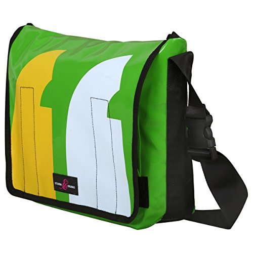 Large Messenger Bag LKW-Planen Taschen Sturm & Drang Courier Kuriertasche (Messenger Bag Courier)